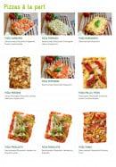 Menu Mezzo Di Pasta - Pizzas à la part