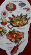Menu Pedra Alta - Autres crevettes, gambas et langouste