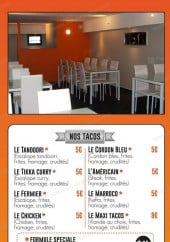 Menu All Time'S - Les tacos, wings,..