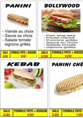 Menu Casa tacos - Sandwiches