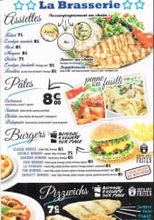 Menu Planet Food - Assiettes, pâtes, burgers,...