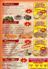Menu Pizza Home - salades, sandwichs, panini, tex-mex