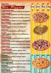 Menu Pizza Home - les pizzas