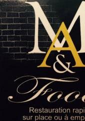 Menu M&A food - Carte et menu M&A food Vichy
