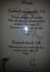Menu Chez Paulette - Formules