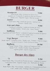 Menu La Guinguette Planes - Burgers et menus