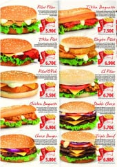 Menu Chicken Spot - Les menus burgers