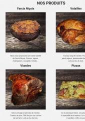 Menu La Brocherie - Les farcis niçois, viandes, pizzas, volailles
