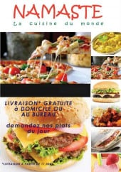 Menu Namaste - Carte et menu Namaste Nice