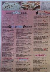 Menu Tandoori Flame - Les naans, entrées, pizzas...