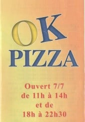 Menu Ok pizza - carte et menu Ok pizza le cannet