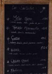 Menu Pizza Gourmet - Les salades