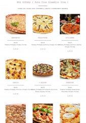 Menu Amore pizza - Les pizzas