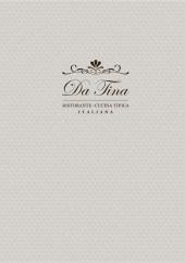 Menu Da Tina - Carte et menu Da Tina Cannes