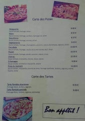 Menu Auberge des Gorges de Daluis - Pizzas et tartes