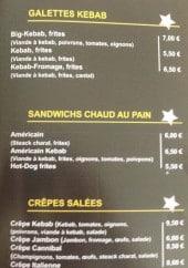 Menu Univers snack traiteur - Sandwichs, galettes et crêpes