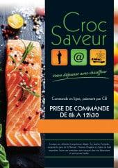 Menu Croc Saveur - Carte et menu Croc Saveur Antibes