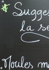 Menu L'Orée d'Azur - Suggestions de la semaine