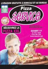 Menu Pizza Service - Carte et menu Pizza Service Rethel