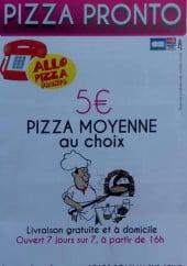 Allo Pizza Pronto à Romilly Sur Seine Carte Menu Et Photos