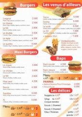 Menu 3D Troyes Delices - Les burgers, tacos, baps...