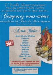 Menu L'Ecailler Gourmet - Plateaux fruits de mer à emporter suite
