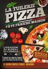 Menu La Tuilerie - Carte et menu La Tuilerie Narbonne