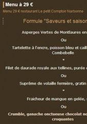 Le petit comptoir narbonne carte menu et photos - Le petit comptoir narbonne ...