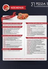 Menu Pizza Belouga - Carte et menu Pizza Belouga Sigean