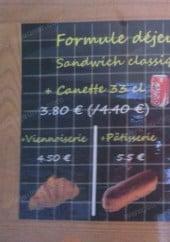 Menu Le Four de l'Aude - La formule déjeuner classique