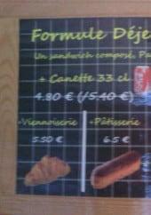 Menu Le Four de l'Aude - La formule déjeuner composé