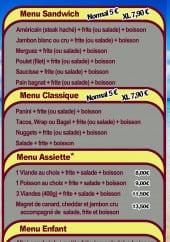 Menu Tee PY - Les menus