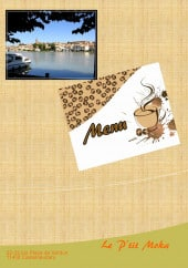 Menu Le P'tit Moka - Carte et menu Le P'tit Moka Castelnaudary