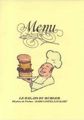 Menu Le Palais du Burger - Carte et menu Le Palais du Burger Castelnaudary