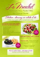 Menu Le Mescled - Les salades