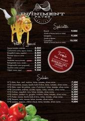 Menu Infiniment Pâtes - Les spécialités, pâtes et salades