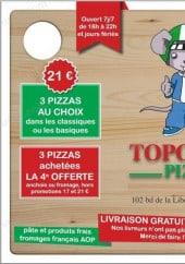 Menu Topolino pizza - carte et menu topolino pizza marseille