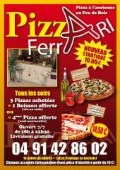 Menu Pizza Ferrari - Carte et menu Pizza Ferrari à Marseille 5