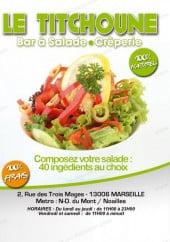 Menu Le Titchoune - Carte et menu Le Titchoune Marseille 6