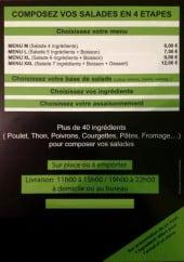 Menu Le Titchoune - Les menus