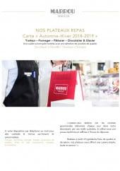 Menu Marrou - Carte et menu Marrou Marseille 6