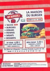 Menu My Burger - Carte et menu My Burger à Marseille 11