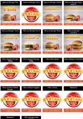 Menu Le System - Burger fish et chicken...