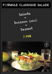 Menu Alice and CO - Le formule classiques salade