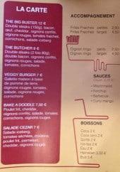Menu Cheese & burger - Les sauces, boissons,...