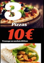 Menu Corsy Pizza - Informations supplementaires