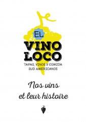 Menu El vino loco - Carte et menu el vino loco à aix en provence