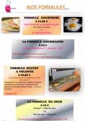 Menu L'Oeuf Gourmand - Les formules