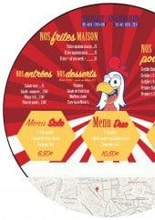 Menu La poulette rit - Les frites, entrées,...