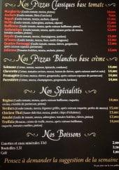Menu La regina di napoli - Les pizzas, spécialités et boissons